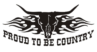 Proud to Be Country v2 Decal Sticker