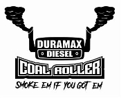 Duramax Coal Roller v3 Decal Sticker