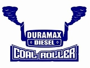 Duramax Coal Roller v6 Decal Sticker