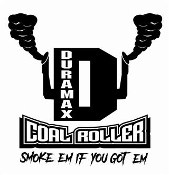 Duramax Coal Roller v8 Decal Sticker