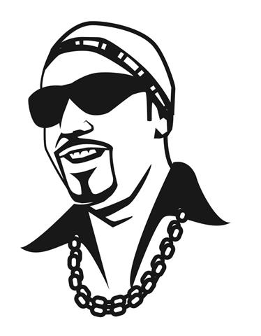 Ali G Decal Sticker