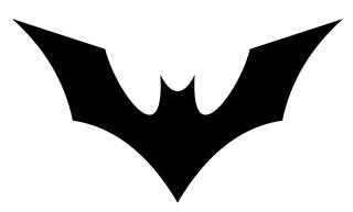 Batman v13 Decal Sticker