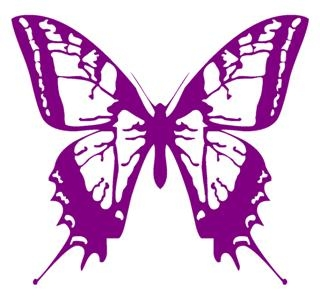 Butterfly v1 Decal Sticker