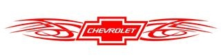 Chevrolet Tribal v2 Decal Sticker