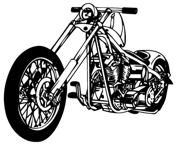 Chopper 2 decal sticker