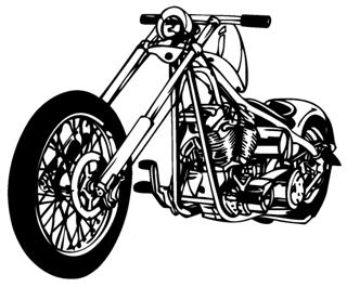 Chopper v2 Decal Sticker