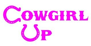 Cowgirl Up v3 Decal Sticker