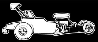 Dragster v5 Decal Sticker