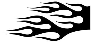 Flame Pattern 19 Decal Sticker