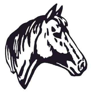 Horse Head v2 Decal Sticker