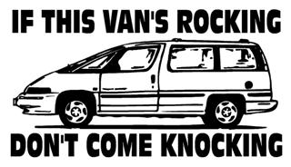 If This Vans Rocking Decal Sticker