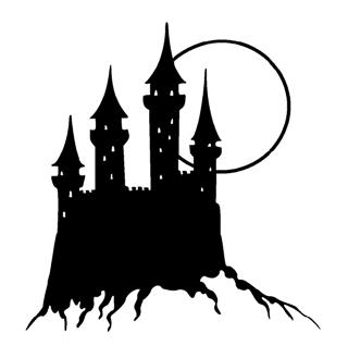Medieval Castle Decal Sticker