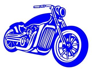 Motorcycle v2 Decal Sticker