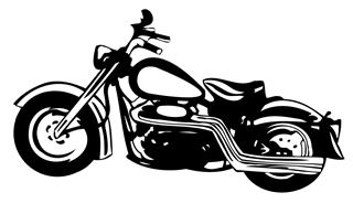 Motorcycle v3 Decal Sticker