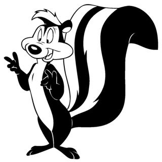 Pepe Le Pew Decal Sticker