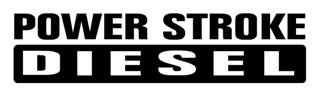 Power Stroke Diesel v4 Decal Sticker