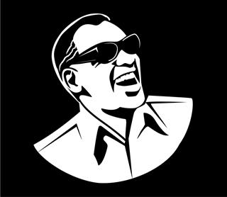Ray Charles Decal Sticker