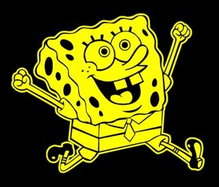 Sponge Bob 1 Decal Sticker