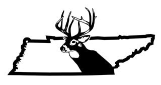 Tennessee Deer Hunting Decal Sticker
