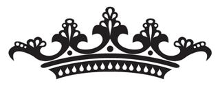 Tiara Crown v1 Decal Sticker