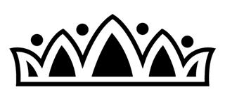 Tiara Crown v4 Decal Sticker