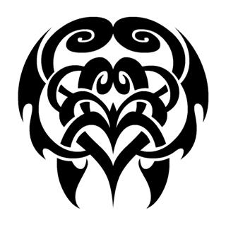 Tribal Design v25 Decal Sticker