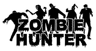 Zombie Hunter v1 Decal Sticker