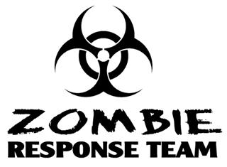 Zombie Response Team v2 Decal Sticker